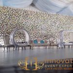 wedding stage in DHA lahore