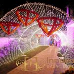 Stage entrance in lahore wedding