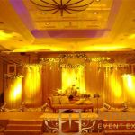wedding stage for bride