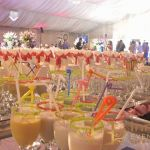 wedding drinks display for peoples